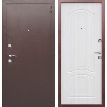 Входная металлическая дверь Феррони Dominanta в цвете Медный антик / Белый ясень |Полотно 6 см, Металл 1 мм, Вес 47 кг (Товар № ZF165713)