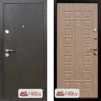 Входная металлическая дверь Цитадель Йошкар в цвете Медный антик / Ель карпатская |Полотно 70 см, Металл 1 мм, Вес 54 кг (Товар № ZF104380)