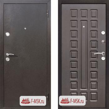Входная металлическая дверь Цитадель Йошкар в цвете Медный антик / Венге |Полотно 70 см, Металл 1 мм, Вес 54 кг (Товар № ZF104381)