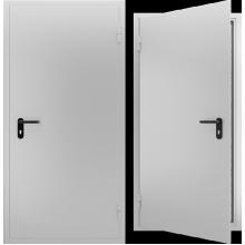 Дверь противопожарная металлическая однопольная EI 60. Дверь ДПМ-01 EI 60. Цвет: RAL: 7035 серый (Товар № 105567)