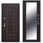 Входная металлическая дверь 12 см Сенатор зеркало Венге (Товар № ZF104414)