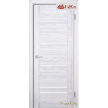 Межкомнатная дверь PROFILO PORTE. Модель PSK 1 лак белый , Цвет: ривьера айс , Отделка: экошпон