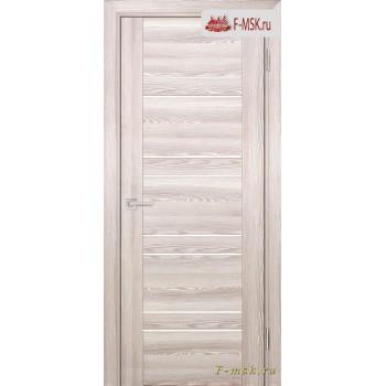 Межкомнатная дверь PROFILO PORTE. Модель PSK 1 лак белый , Цвет: ривьера крен экрю , Отделка: экошпон (Товар № ZF153857)