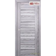 Межкомнатная дверь PROFILO PORTE. Модель PSK 1 лак белый , Цвет: ривьера грей , Отделка: экошпон