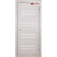 Межкомнатная дверь PROFILO PORTE. Модель PSK 1 лак белый , Цвет: ривьера крем , Отделка: экошпон