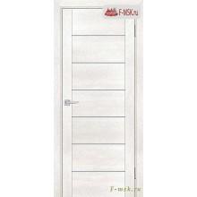 Межкомнатная дверь PROFILO PORTE. Модель PSN 1 сатин , Цвет: бьянко антико , Отделка: экошпон