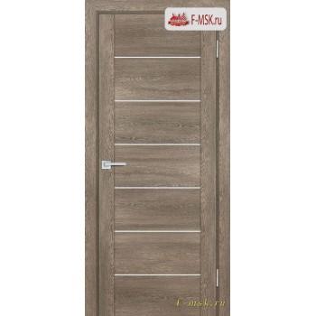 Межкомнатная дверь PROFILO PORTE. Модель PSN 1 сатин , Цвет: бруно антико , Отделка: экошпон (Товар № ZF154027)