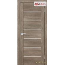 Межкомнатная дверь PROFILO PORTE. Модель PSN 1 сатин , Цвет: бруно антико , Отделка: экошпон