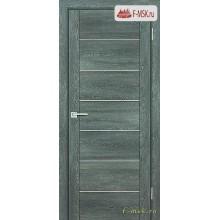 Межкомнатная дверь PROFILO PORTE. Модель PSN 1 сатин , Цвет: гриджио антико , Отделка: экошпон