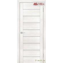 Межкомнатная дверь PROFILO PORTE. Модель PSN 2 сатин , Цвет: бьянко антико , Отделка: экошпон