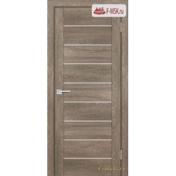 Межкомнатная дверь PROFILO PORTE. Модель PSN 2 сатин , Цвет: бруно антико , Отделка: экошпон (Товар № ZF154049)