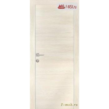 Межкомнатная дверь PROFILO PORTE. Модель PX 1 , Цвет: эш вайт горизонт , Отделка: экошпон (Товар № ZF154577)
