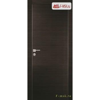 Межкомнатная дверь PROFILO PORTE. Модель PX 1 , Цвет: венге горизонт , Отделка: экошпон (Товар № ZF154588)
