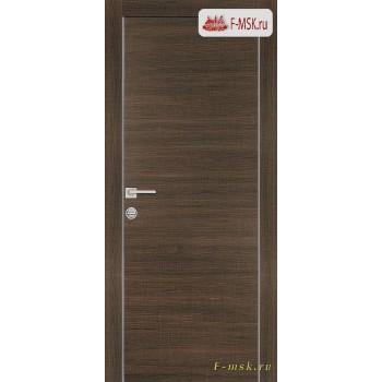 Межкомнатная дверь PROFILO PORTE. Модель PX 1 , Цвет: вяз эминем , Отделка: экошпон (Товар № ZF154594)