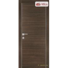 Межкомнатная дверь PROFILO PORTE. Модель PX 1 , Цвет: вяз эминем , Отделка: экошпон