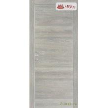 Межкомнатная дверь PROFILO PORTE. Модель PX 1 , Цвет: дуб грей патина , Отделка: экошпон