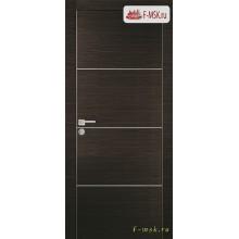 Межкомнатная дверь PROFILO PORTE. Модель PX 2 , Цвет: венге горизонт , Отделка: экошпон