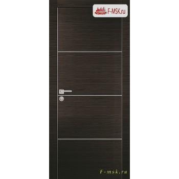 Межкомнатная дверь PROFILO PORTE. Модель PX 2 , Цвет: венге горизонт , Отделка: экошпон (Товар № ZF154622)