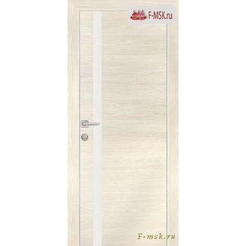 Межкомнатная дверь PROFILO PORTE. Модель PX 8 белый лак , Цвет: эш вайт горизонт , Отделка: экошпон