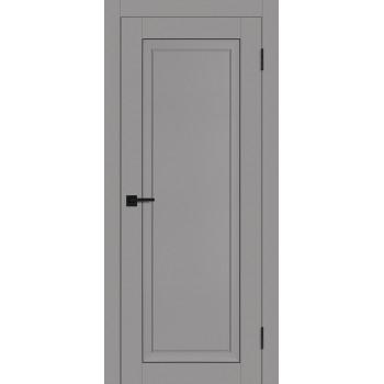 Дверь PST-26 серый бархат  SoftTouch глухое