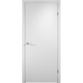 Дверь ДПГ четверть 2014 в комплекте Белый  Финиш-пленка глухое