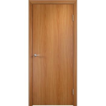 Дверь ДПГ четверть 2014 в комплекте Миланский орех  Финиш-пленка глухое