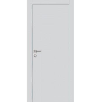 Дверь PX-1 AL кромка Агат  Экошпон глухое