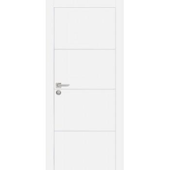 Дверь PX-2 Белый  Экошпон глухое (Товар № ZF213479)