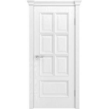 Дверь Фрейм 10 Ясень белоснежный  Шпон глухое (Товар № ZF213547)