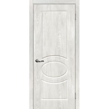 Дверь Сиена-1 Дуб жемчужный  PVC глухое (Товар № ZF13499)
