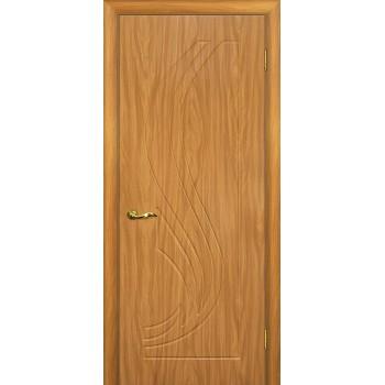 Дверь Трио Миланский орех  PVC глухое (Товар № ZF14358)