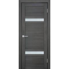 Дверь ТЕХНО-705 Грей  nanotex белый сатинат со стеклом (Товар № ZF14403)