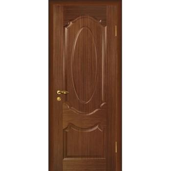 Дверь Ариана Темный орех  Шпон глухое (Товар № ZF14449)
