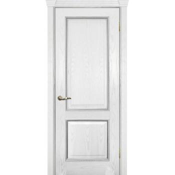 Дверь Фрейм 02 Ясень айсберг  Шпон глухое (Товар № ZF14472)