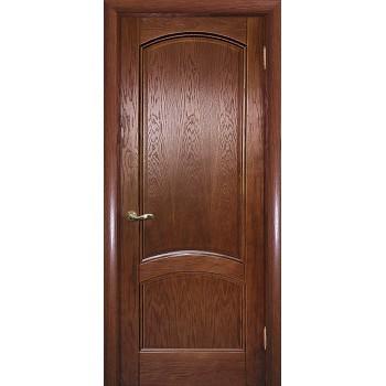 Дверь Вайт 01 Дуб  Шпон глухое (Товар № ZF14498)