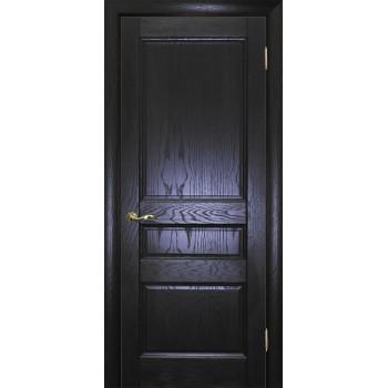 Дверь Вайт 02 Дуб патинированный  Шпон глухое (Товар № ZF14502)