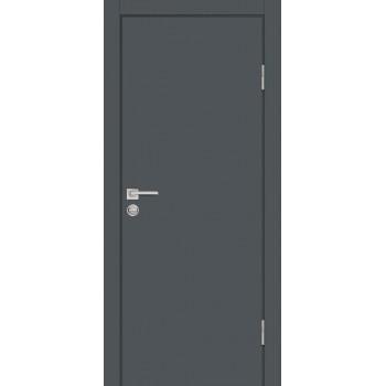 Дверь P-1 Графит  Экошпон глухое (Товар № ZF213254)