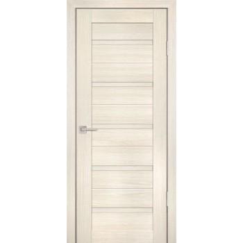 Дверь PS-07 ЭшВайт Мелинга  Экошпон глухое (Товар № ZF12798)