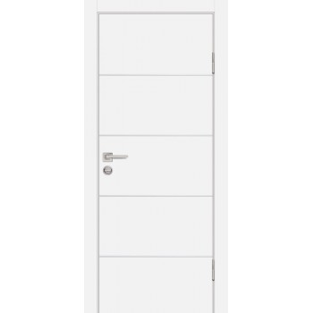 Дверь P-12 Белый  Экошпон глухое (Товар № ZF213268)