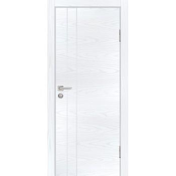 Дверь P-14 Дуб скай белый  Экошпон глухое (Товар № ZF213275)