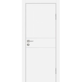 Дверь P-15 Белый  Экошпон глухое (Товар № ZF213280)