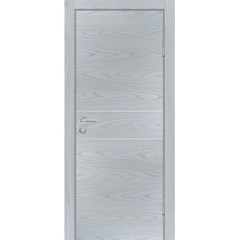 Дверь P-15 Дуб скай серый  Экошпон глухое (Товар № ZF213283)