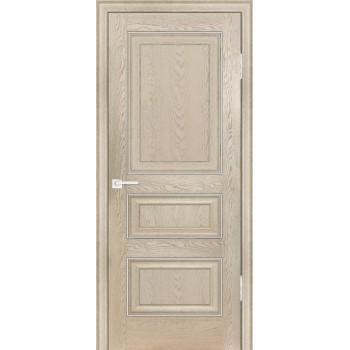 Дверь PSB-30 Дуб Гарвард бежевый  Экошпон глухое (Товар № ZF12991)