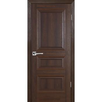 Дверь PSB-30 Дуб Оксфорд темный  Экошпон глухое (Товар № ZF12993)