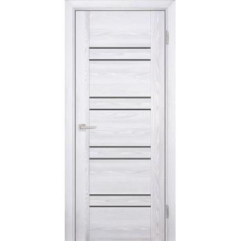 Дверь PSK-1 Ривьера айс  nanotex серый лакобель со стеклом (Товар № ZF13074)