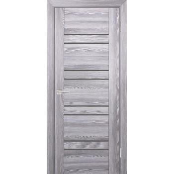 Дверь PSK-1 Ривьера грей  nanotex серый лакобель со стеклом (Товар № ZF13076)