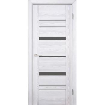 Дверь PSK-2 Ривьера айс  nanotex серый лакобель со стеклом (Товар № ZF13086)