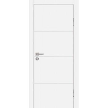 Дверь P-2 Белый  Экошпон глухое (Товар № ZF213292)