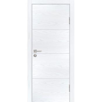 Дверь P-2 Дуб скай белый  Экошпон глухое (Товар № ZF213293)
