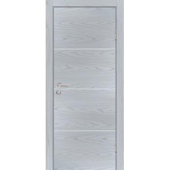 Дверь P-2 Дуб скай серый  Экошпон глухое (Товар № ZF213295)